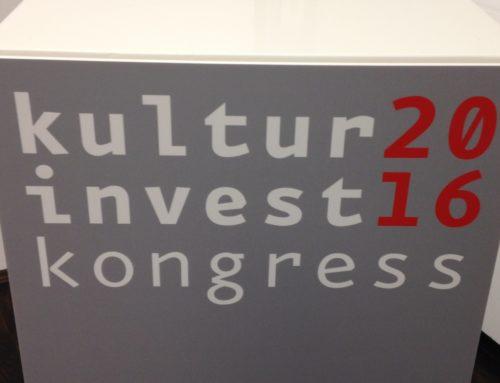 Kulturinvestkongress in Berlin: Ein paar Eindrücke …