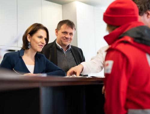 Rotes Kreuz: Dialog über den Zivildienst