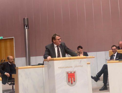 Bericht aus dem Landtag: Regierungserklärung unseres Landeshauptmannes