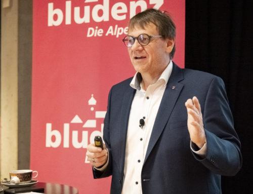 Pressekonferenz: Über die kulturelle Zukunft der Alpenstadt Bludenz