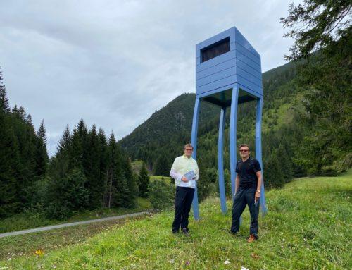 Eine Kulturwanderung am Muttersberg: Auftakt der neuen Bludenzer Kunst-Dialoge